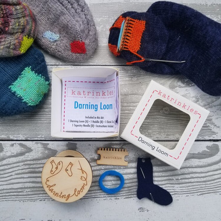 Katrinkles Darning and Mending Loom Kit