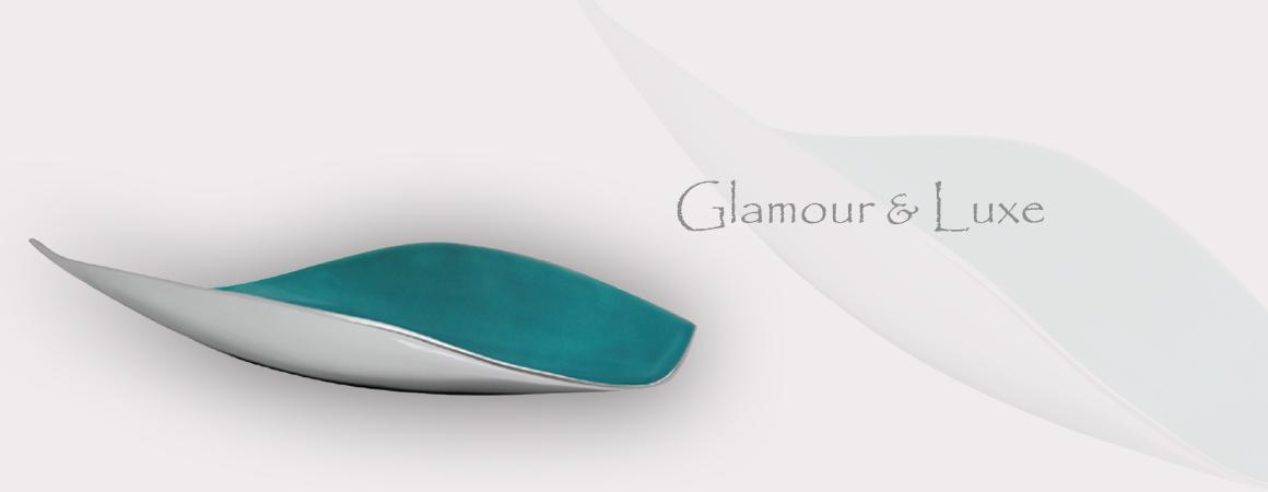 Aluminium Decor leaf dish