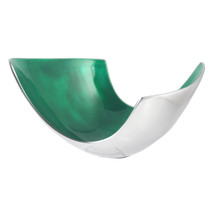 Emerald Medium Abstract Bowl