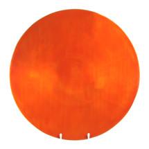 Orange Round Plate