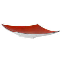 Orange Angular Platter