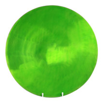 Lime Round Plate