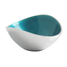 Aqua 10cm Oval Bowl