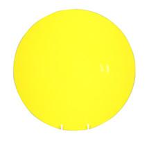 Yellow Round Plate