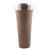 Light Granite Finish Tall Vase
