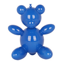 Blue Balloon Teddy Bear