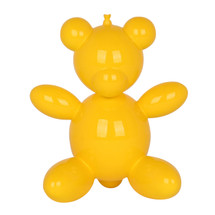 Yellow Balloon Teddy Bear