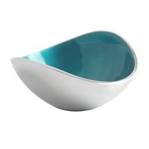 Aqua Oval Bowl 13cm