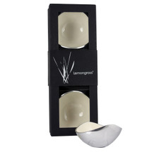 Gift Boxed set of 3 White 13cm Bowls