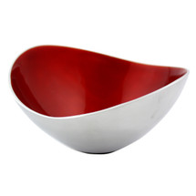 Red Ember 17cm Oval Bowl