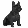 Frenchie - Sitting French Bulldog - Matte Black
