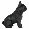 Frenchie - Sitting French Bulldog - Matte Black - 2