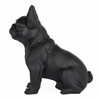 Frenchie - Sitting French Bulldog - Matte Black - 3