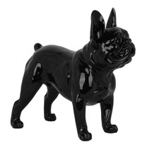 Frenchie - French Bulldog Standing - Black Gloss