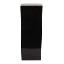 Pedestal Display Stand for Art,Sculptures or Plants - 71cm Black