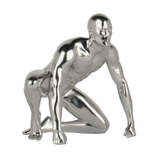 Redemption - Silver Mirror Male Gymnast