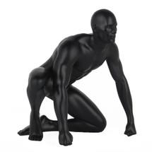 Redemption - Matte Black Male Gymnast
