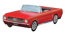 1964 1/2 Red Ford Mustang Foodbox