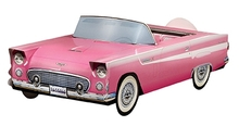 1956 Pink Ford Thunderbird Foodbox
