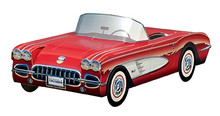 1958 Chevy Corvette Foodbox