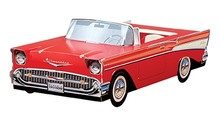 1957 Red Chevy Bel Air Foodbox