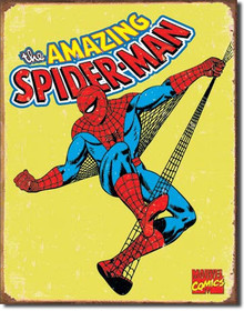 Spiderman Retro Tin Sign