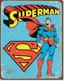 Superman - Retro Tin Sign