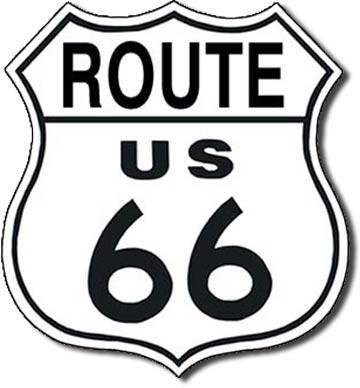 RT. 66 SHIELD Tin Sign