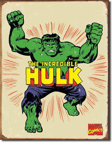 Hulk Retro Tin Sign