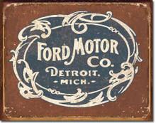 Ford - Historic Logo Tin Sign