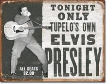 Elvis - Tupelo's Own Tin Sign