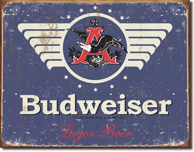 Budweiser 1936 Logo Tin Sign