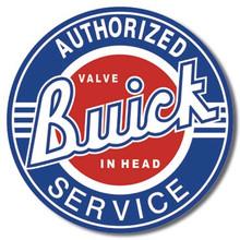 Buick Service Tin Sign