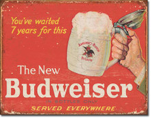Budweiser - The New Tin Sign