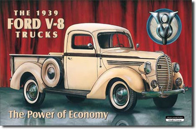 FORD PICK-UP - 1939 Tin Sign