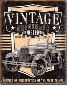 Vintage Originals - Pickup Tin Sign