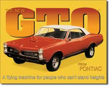 GTO Tin Sign