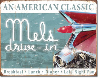 Mels Diner Classic Tin Sign