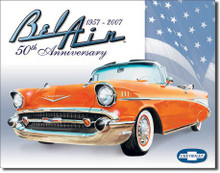 Bel Air - 50th Anniversary Tin Sign
