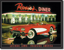 Lewis - Rosie's Diner Tin Sign