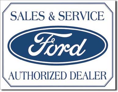 Ford Logo Tin Sign