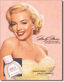 Marilyn Monroe New-U Tin Sign