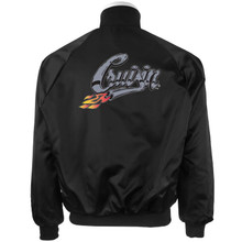Black Satin Jacket Cruisin