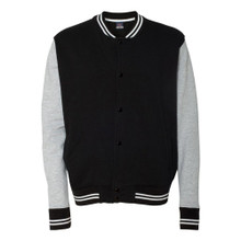Varsity Sweatshirt Jacket Blank