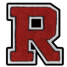High School Letter Chenille Patch