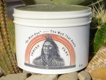 Indian Clay - Magnetic Calcium Bentonite  - 8 Ounce Jar