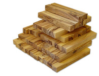 NEW ARRIVAL Olive Wood Pen Blanks 5.5 inches in Length x 0.75 inches in Width x 0.75 inches in Height