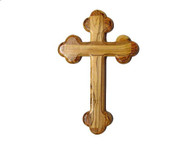 "Olive Wood ""The Cross Of The Fourteen Stations ™"" (5 inches in Height)"