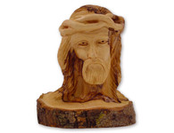 Olive Wood Passion Of Christ Crown Of Thorns Statue (5.5 inches in Height).