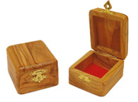 Olive Wood Box (1.4 inches in height)